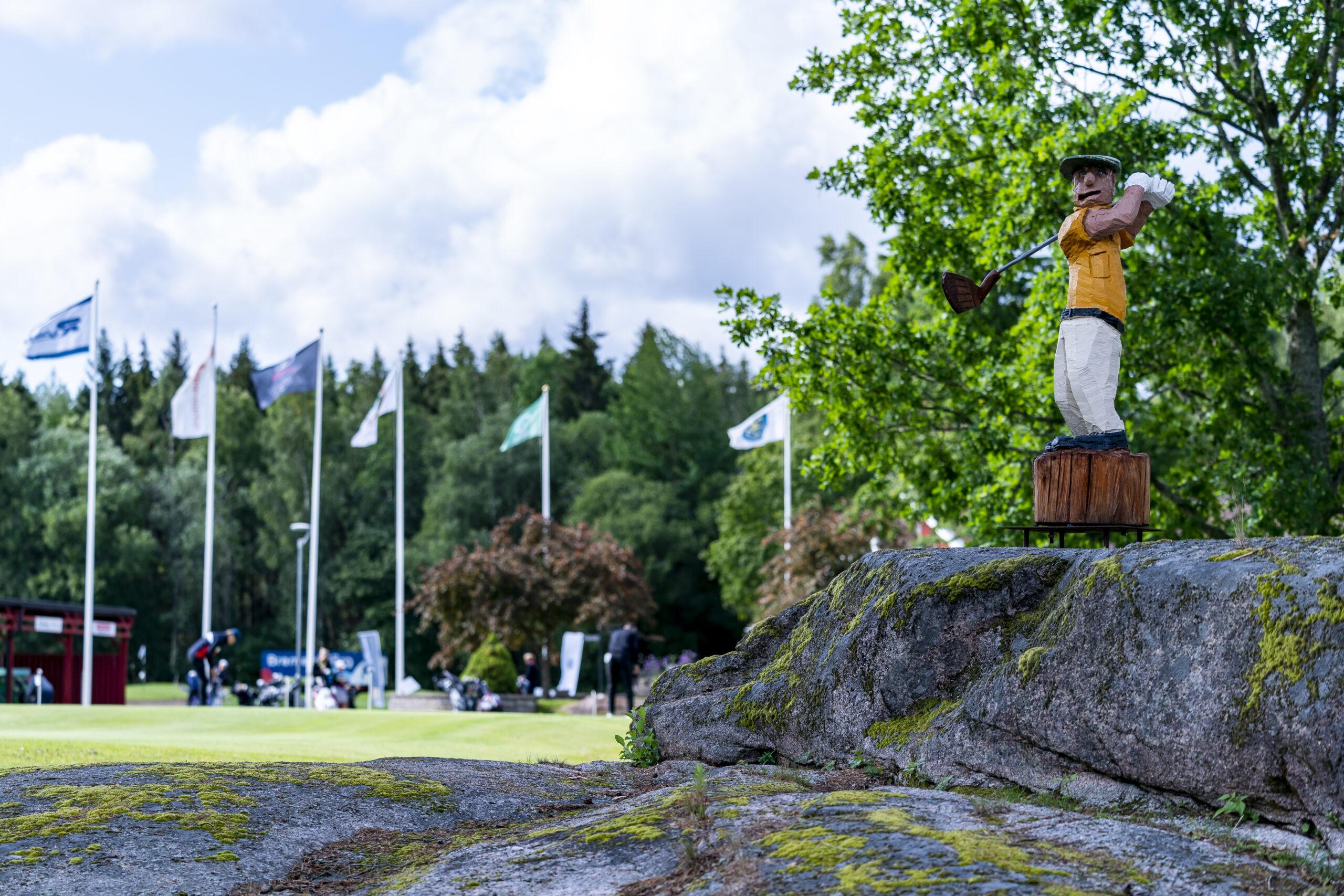 MJöLBY, SVERIGE - 16 JULI 2019 :  Bild tagen under tävlingen Greenfeeslaget på Mjölby GK den 16 juli i Mjölby ( Foto: Daniel Milton / Frilansfotograferna )   Nyckelord Keywords: Golf, Greenfeeslaget, Mjölby GK, greenfeeslaget, mjölby, mjölby gk, golf, ***Betalbild***